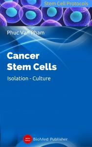 Cover for Cancer stem cells: Isolation - Culture